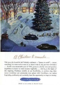 Studebaker Christmas 1945