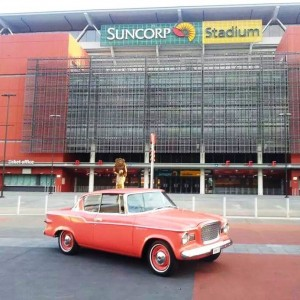 Coralicious at Suncorp Stadium