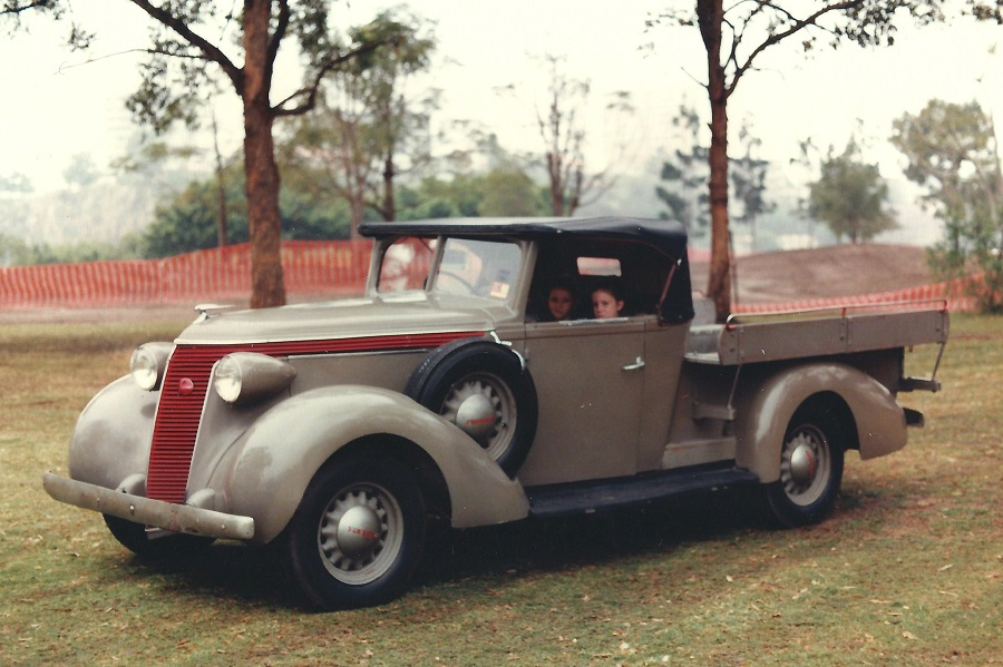1937 Studebaker Dictator Soft Top Ute