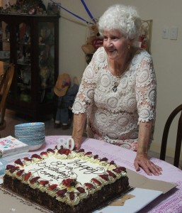 Lorna Venema celebrating her 80th Birthday for 26/10/2015. Lorna is a life member of the SCCQ for 44 years. The Club wishes you  a very Happy 80th Birthday.