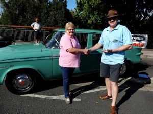 Sheree Copelin - 61 Lark Top Car - SCCQ Concours - September 2015